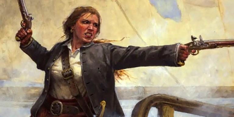 Anne Bonny, la mujer pirata del siglo XVIII que asediaba el Caribe