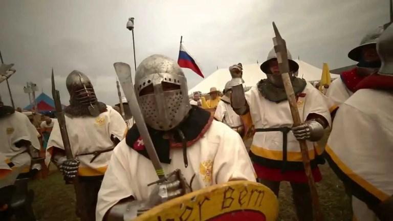 La batalla de las Naciones, lo más cercano a una batalla medieval