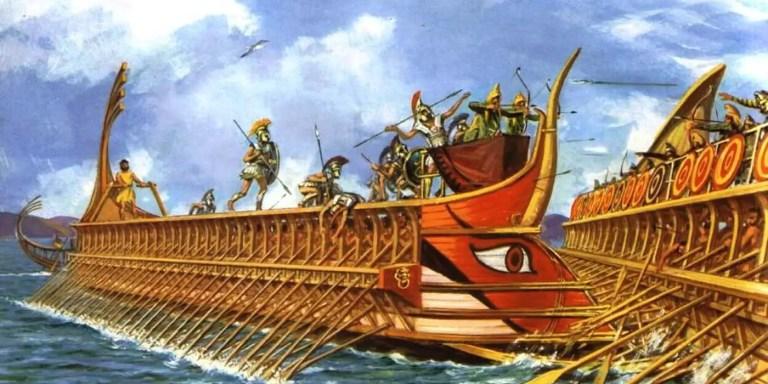 Salamina, la batalla naval más grande en la Historia