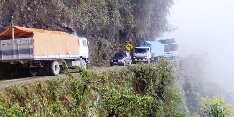 Los caminos más peligrosos del mundo, de Guoliang a las Yungas