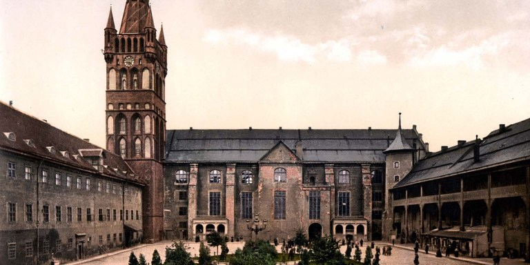 La venganza del castillo Königsberg, el castillo destruido por los soviéticos