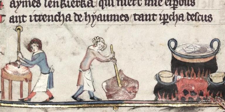 La cocina medieval.