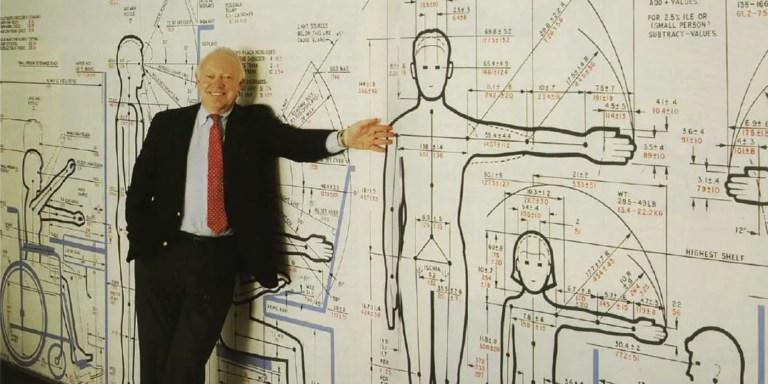 Le Corbusier, Henry Dreyfuss y la antropometría en la arquitectura