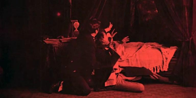 Escena del Frankenstein de Edison.