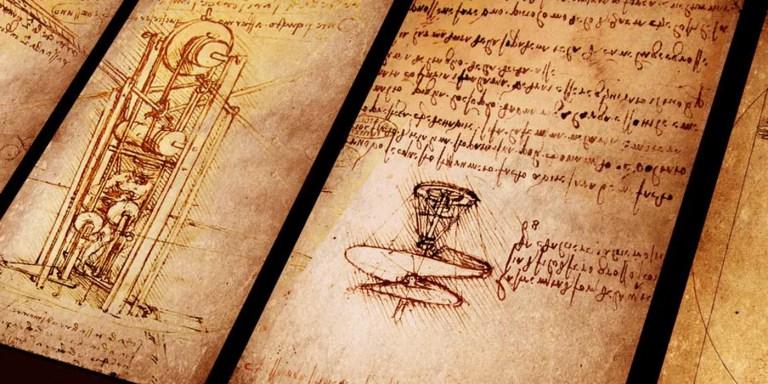 Invenciones del gran genio renacentista Leonardo da Vinci.