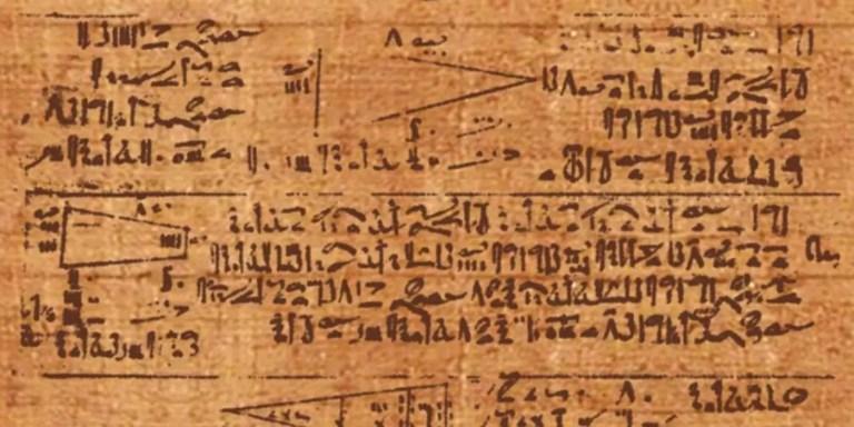 El papiro egipcio de Rhind, el texto matemático más antiguo de la historia