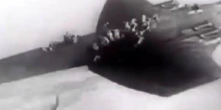 Paracaidistas soviéticos pioneros.