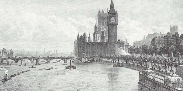 El Gran Apestamiento de Londres de 1858, la podredumbre del Támesis