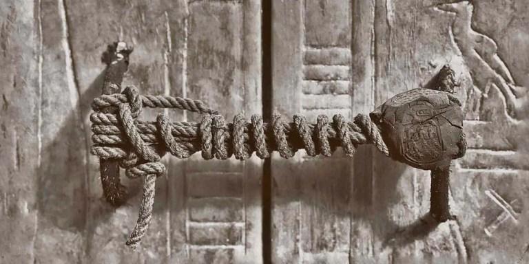 El sello que protegió la tumba de Tutankamón durante 3.245 años