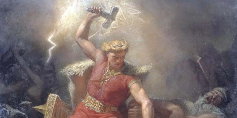 ¿Fue Thor inspirado por un meteorito? El meteorito que creó un dios