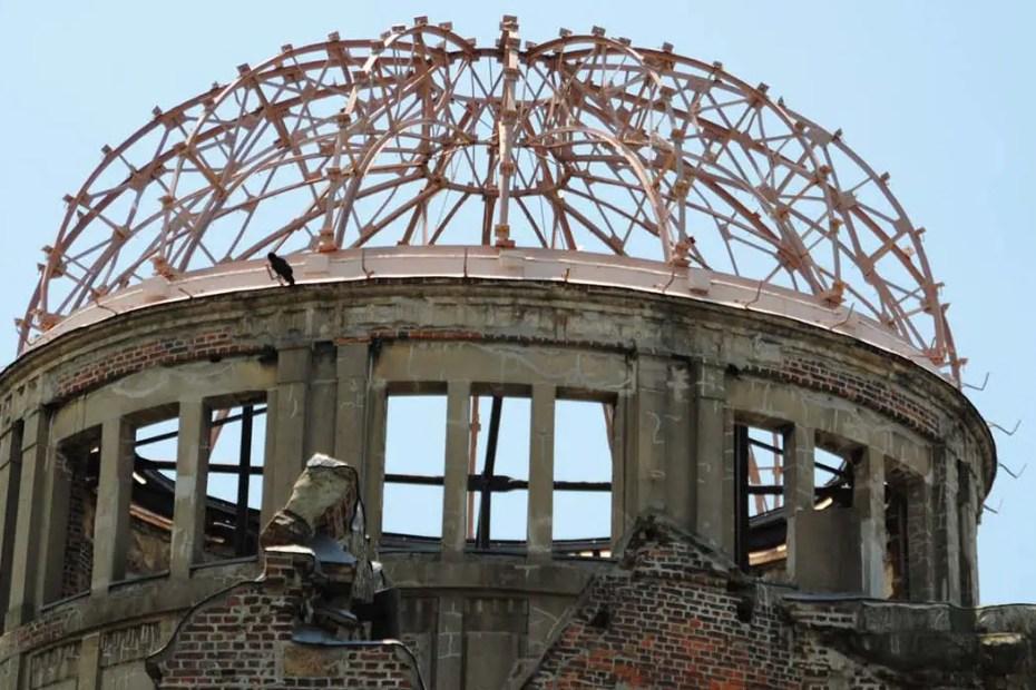 Domo Hiroshima, considerado como un monumento a la paz de Hiroshima y Nagasaki.