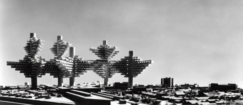 Modelo de la Ciudad en el aire.
