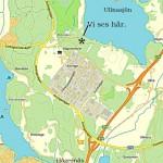 Ullna-strand-karta