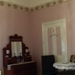 Antique Pine Dressing Table in Angas Plains Estate Heritage Suite