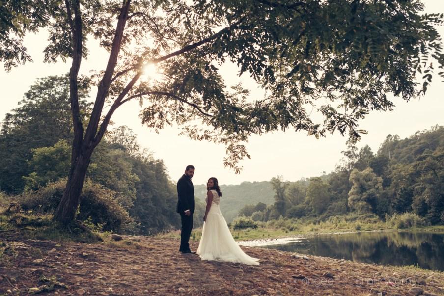 Postboda de Jessica y Christian. Las Caldas. angeefotografia.com. Postboda en la naturaleza