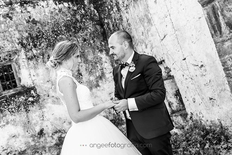 Novios fotos de recién casados por Angela Gonzalez Fotografía