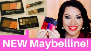 New Maybelline products!