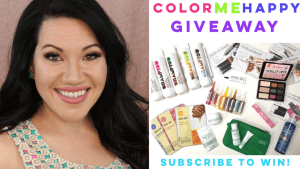 Color Me Happy Giveaway in Celebration of 3,000 Subscribers