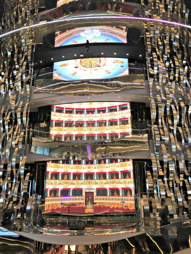 Multi-story atrium