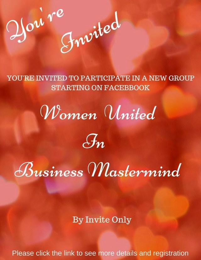 Woman entrepreneur, women united in business