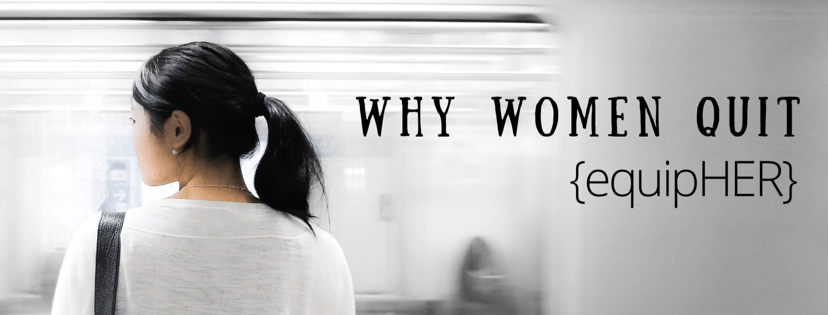 Why Women Quit…learning to live anonymously…