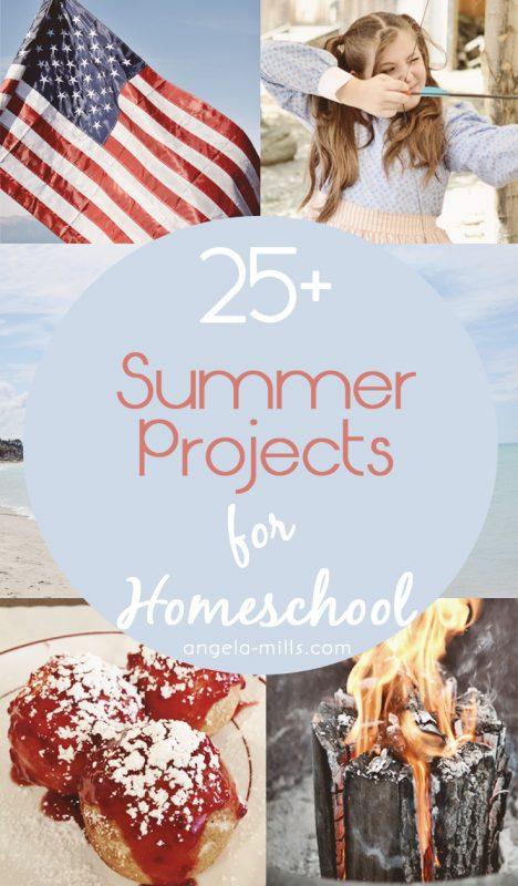 Homeschool Summer Projects
