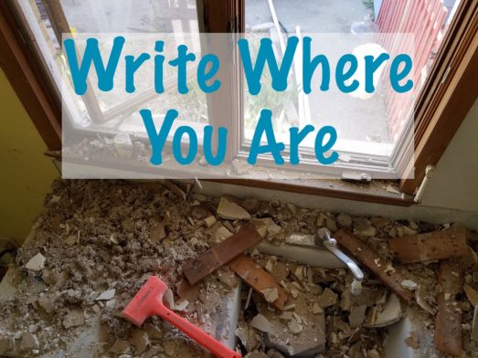 Write Where You Are