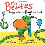 Book Cover: Wee Beasties: Huggy the Python Hugs Too Hard