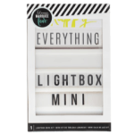 "Lightbox with the words ""Everything Lightbox Mini"""