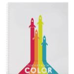 Rocket reusable notebook