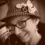 Juli Caveny in her thinking cap