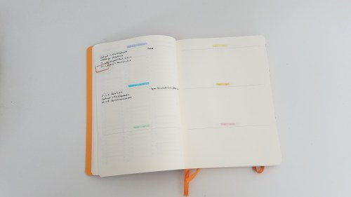 2019 Writing Bullet Journal - Future Log