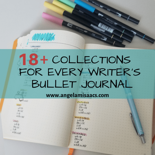 18+ Bullet Journal Collections for Writers