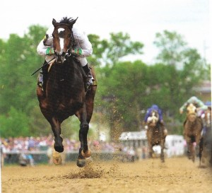 Rachel Alexandra At the Kentucky Oaks