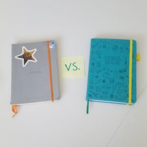 Bullet Journaling for Writers: Planning bujo vs. novel bujo