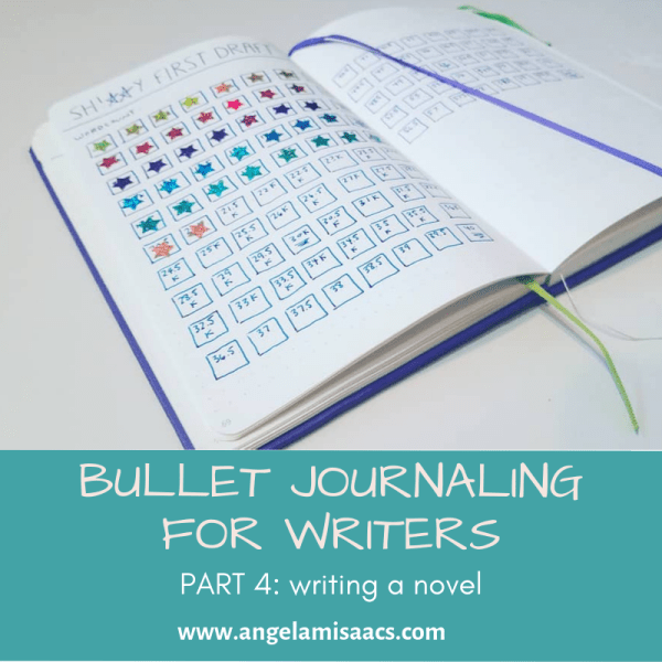 Bullet Journaling for writers: Part 4. Writing a novel
