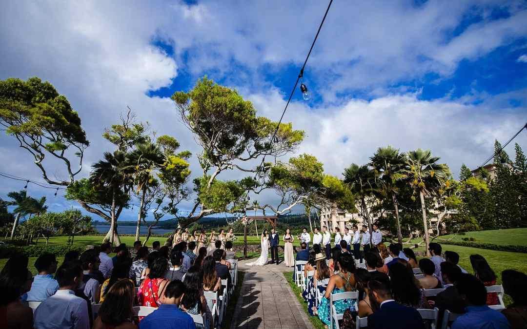 Kapalua Maui Wedding Venues: Steeple House at Kapalua