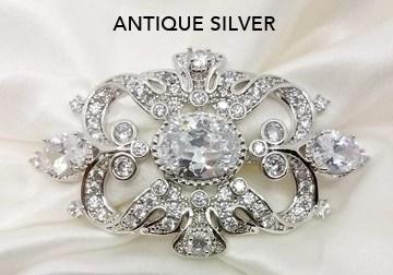 Antique Silver Brooch