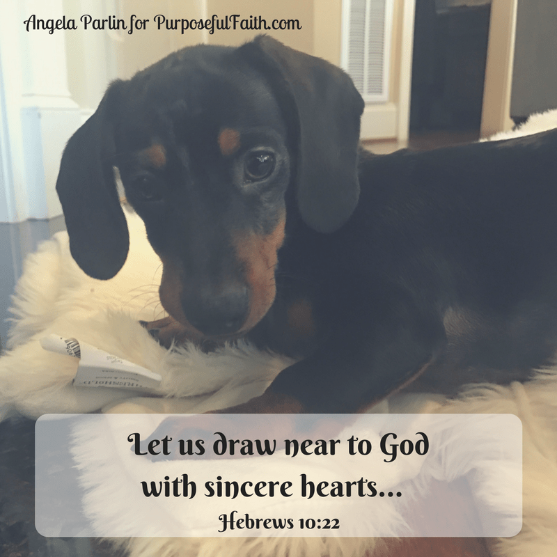 draw near God heart