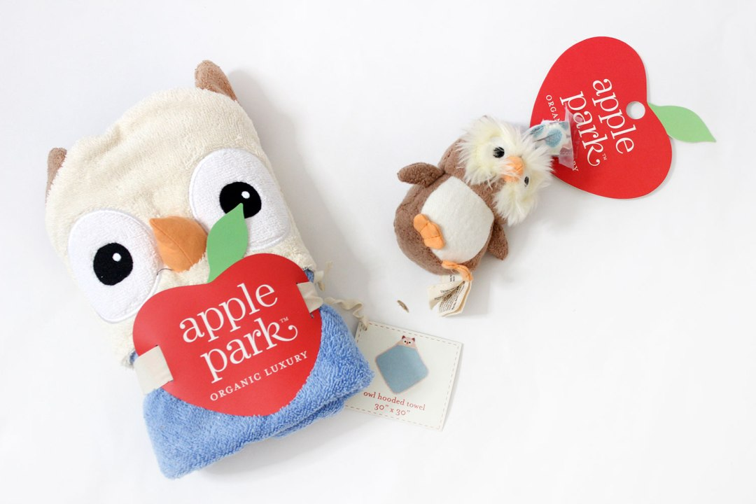 Apple Park Hooded Owl Towel