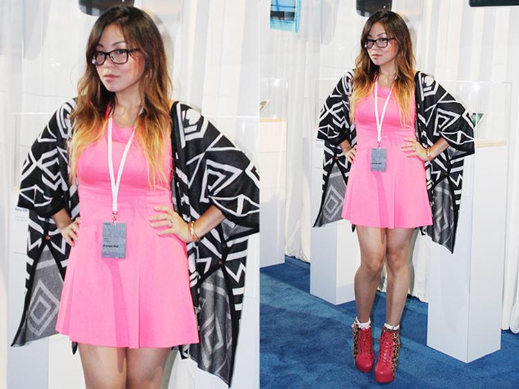 Angela Ricardo koreandoll fashion beauty blogger Pier 92 Nokia Lumia 1020 Zoom Reinvented event
