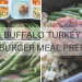 Buffalo Turkey Meal Prep