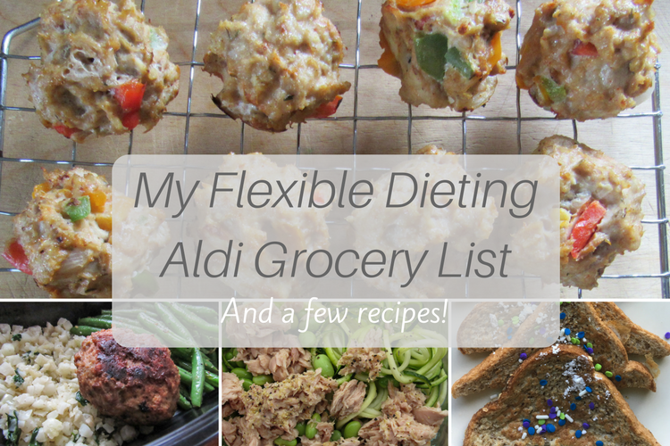 My Flexible Dieting Aldi Grocery List