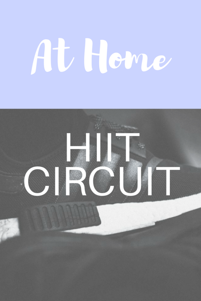 At Home HIIT Circuit