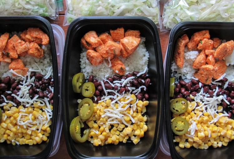 Buffalo Chicken Salad Meal Prep