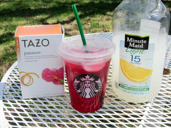 Copycat Starbucks Passion Tea Lemonade