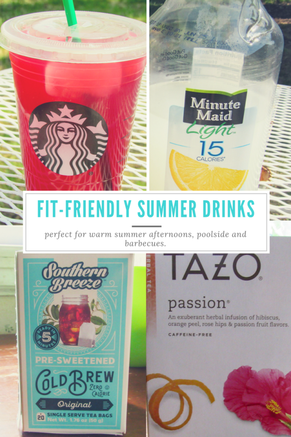 Fit Friendly Summer Drinks