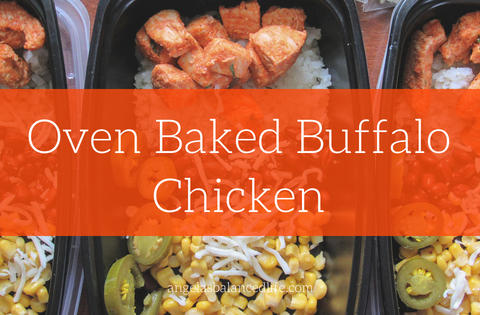 Oven Baked Buffalo Chicken