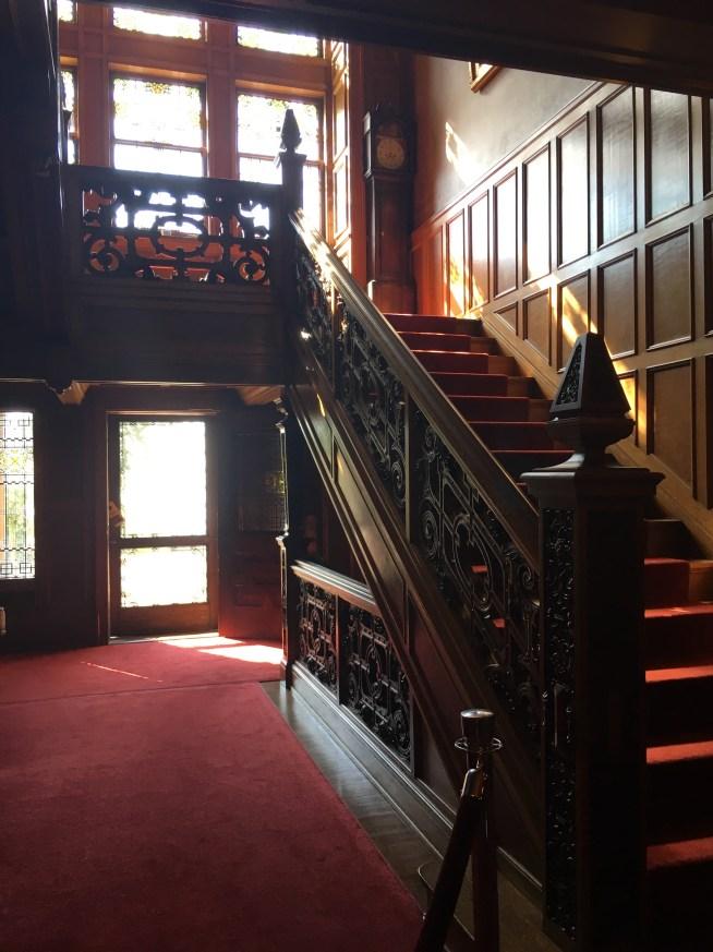 Gleensheen Mansion Staircase