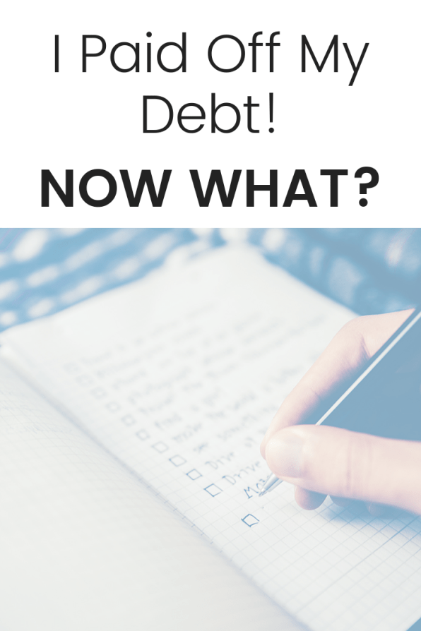 I Paid Off My Debt! Now What?